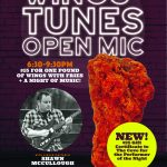 Wing's Tunes + Open Mic with Shawn McCullough