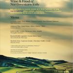 PIEMONTE WINE DINNER: WINE & FOOD OF NORTHWESTERN ITALY @ The Cove Apr.4