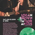 Logan Brown and Taylor Angus at the Cove Inn