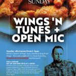 Wing's n Tunes & Open Mic with Shawn Mc Cullough