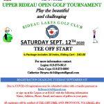 Upper Rideau Open Golf Tournament