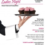 Sweet Indulgences Ladies Night 2012 – Dessert Gala and Competition