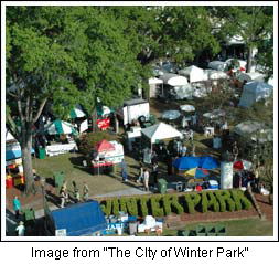 Autum Art Festival Winter Park