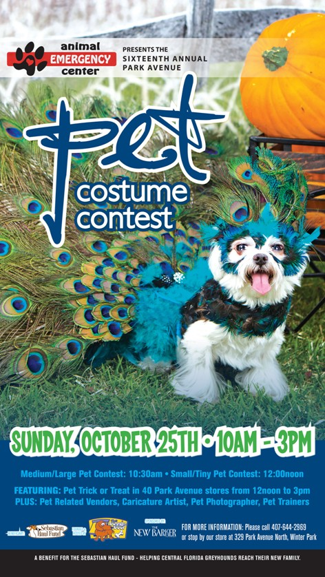 The 16th annual free Pet Costume Contest