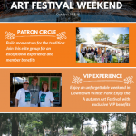 Autumn Art Festival Weekend: Get Involved