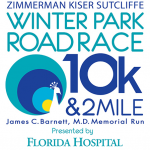 Zimmerman Kiser Sutcliffe Winter Park Road Race 10k and 2 Mile Presented by Florida Hospital