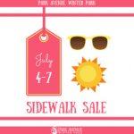 2018 Park Avenue Summer Sidewalk Sale